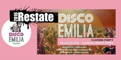 Disco Emilia Closing Party