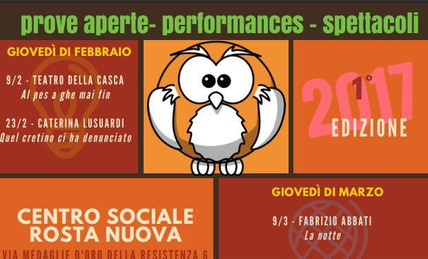 2017_La Civetta sul Noce Nero - incontri teatrali