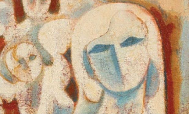 Tutto sotto il cielo di perla Mostra di Pittura di Sami Burhan