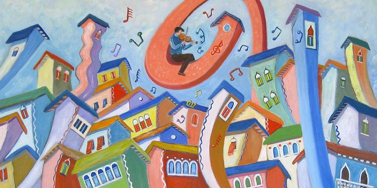 Violinista stravagante