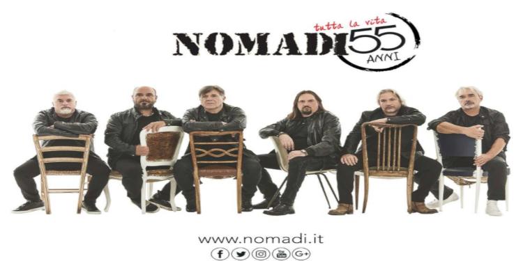 Calendario Concerti Nomadi.Nomadi In Concerto Tutta La Vita Tour 55 Eventi